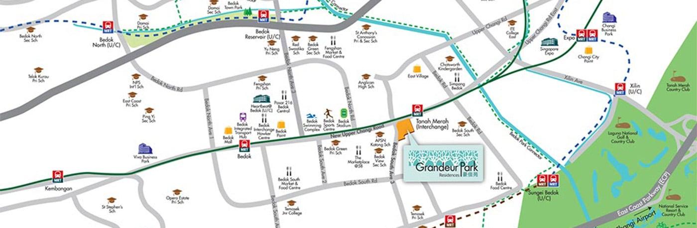 grandeur-park-residences-transportation-routes-nearby