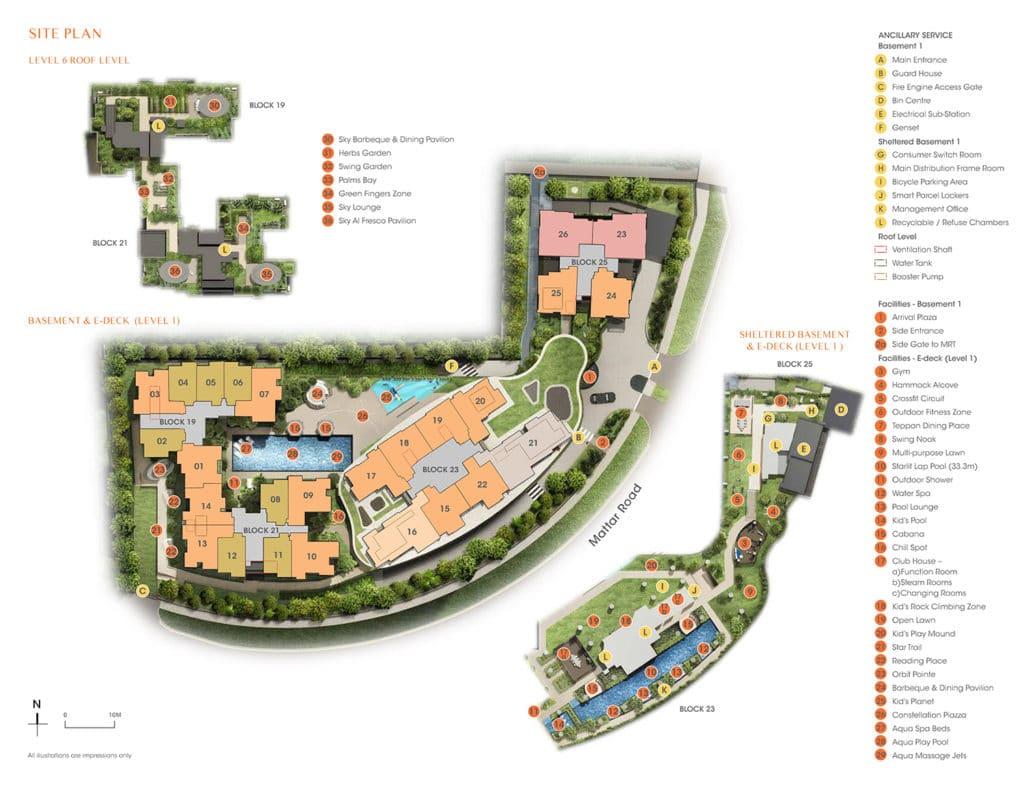 the-antares-condo-siteplan