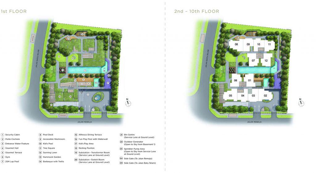 Mont-botanik-residence-siteplan
